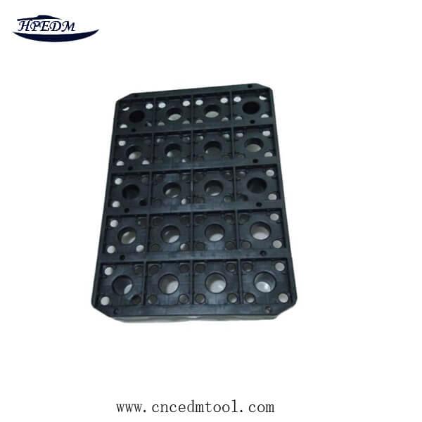 3R EDM machine electrode plastic plate | High Precision CNC
